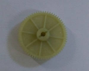 Wltoys 10428-C2 RC Car spare parts large reduction gear 65T 0327