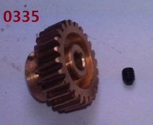 Wltoys 10428-C2 RC Car spare parts motor gear 0335