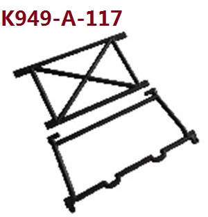 Wltoys 10428-A RC Car spare parts Cab support K949-a-117