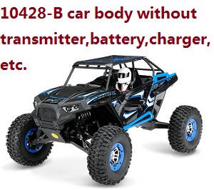 Wltoys 10428-B RC Car body without transmitter,battery,charger,etc.