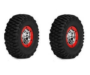 Wltoys 10428-C RC Car spare parts tire 2pcs