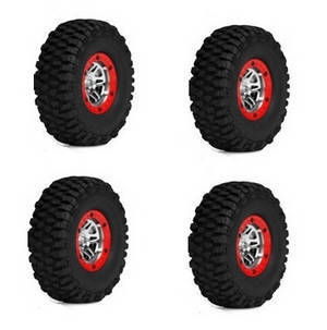 Wltoys 10428-C RC Car spare parts tire 4pcs