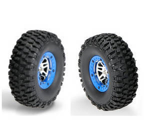Wltoys 10428-C2 RC Car spare parts tire 2pcs