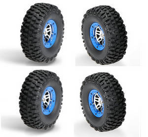 Wltoys 10428-C2 RC Car spare parts tire 4pcs
