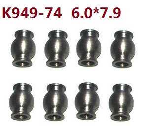 Wltoys 10428-C RC Car spare parts 6.0*7.9 ball head K949-74 8pcs