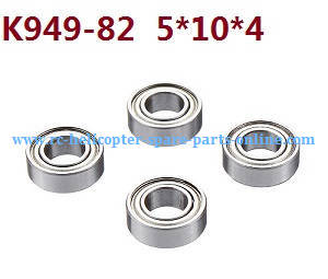 Wltoys 10428-C RC Car spare parts rolling bearing K949-82 5*10*4 4pcs