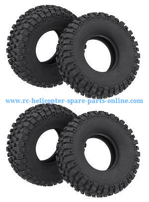Wltoys 10428-C RC Car spare parts tire skin 4pcs