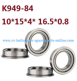 Wltoys 10428-C RC Car spare parts rolling bearing K949-80 10*15*4*16.5*0.8 4pcs