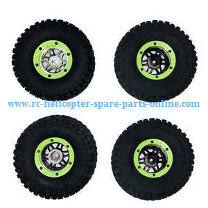 Wltoys 10428-A RC Car spare parts tire 4pcs