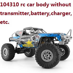 Wltoys 104310 RC Car body without transmitter battery charger etc.