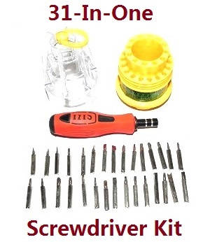 Wltoys 104310 RC Car spare parts 1*31-in-one Screwdriver kit package