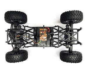 Wltoys 104310 RC Car spare parts drive module with tires assembly
