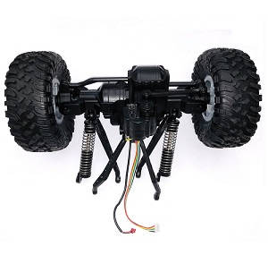 Wltoys 104310 RC Car spare parts drive module with tires assembly (Front)