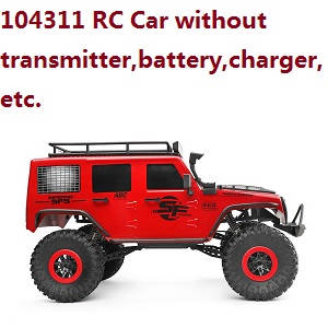 Wltoys 104311 RC Car without transmitter,battery,charger,etc.
