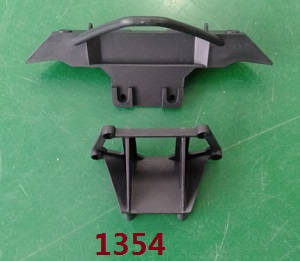 Wltoys 104311 RC Car spare parts front bumper assembly 1354