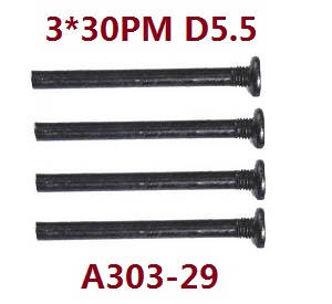 Wltoys 12409 RC Car spare parts screws 3*30PM A303-29