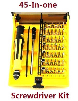 Wltoys 12409 RC Car spare parts 45-in-one A set of boutique screwdriver