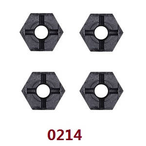 Wltoys 12409 RC Car spare parts hexagon combiner 0214