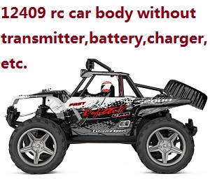 Wltoys 12409 RC Car body without transmitter,battery,charger,etc.