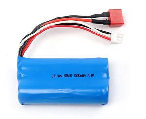 Wltoys 12409 RC Car spare parts 7.4V 1500mAh battery