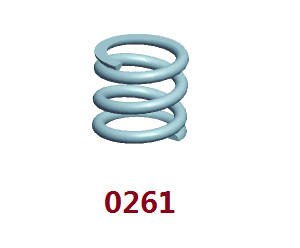 Wltoys 12409 RC Car spare parts spring 0261