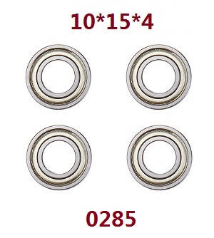 Wltoys 12409 RC Car spare parts bearing 10*15*4 4pcs 0285