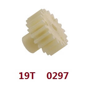 Wltoys 12409 RC Car spare parts 19T motor gear