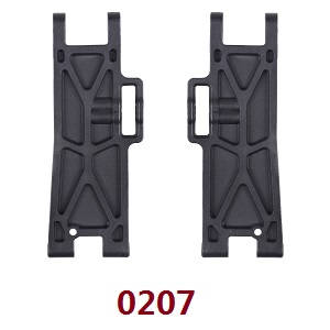 Wltoys 12409 RC Car spare parts arm as-rear lower swing 0207