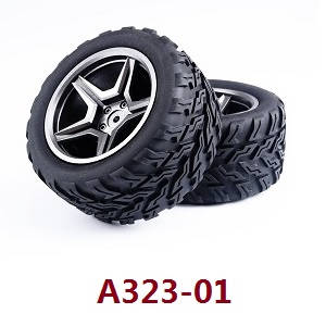 Wltoys 12409 RC Car spare parts tires 2pcs