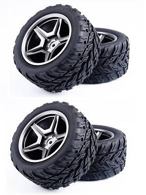 Wltoys 12409 RC Car spare parts tires 4pcs