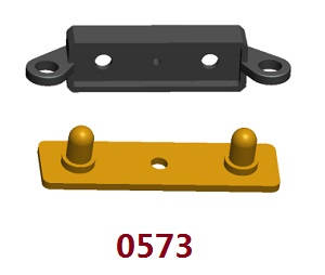Wltoys 12409 RC Car spare parts rear lamp bracket 0573