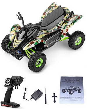 Wltoys 12428-A RC Car RTR