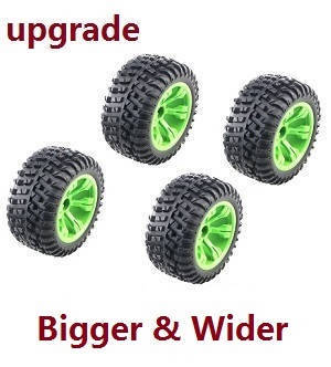 Wltoys 12628 RC Car spare parts tires 4pcs (Upgrade)