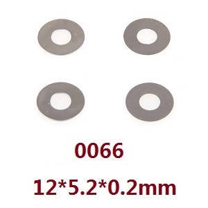 Wltoys 12628 RC Car spare parts shim ring 12*5.2*0.2mm (0066)