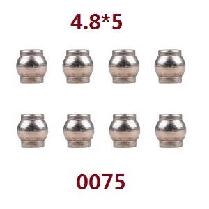 Wltoys 12628 RC Car spare parts ball head 4.8*5 (0075)