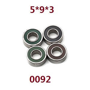 Wltoys 12628 RC Car spare parts bearing 5*9*3 (0092)
