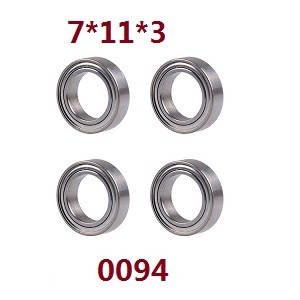 Wltoys 12628 RC Car spare parts bearing 7*11*3 (0094)