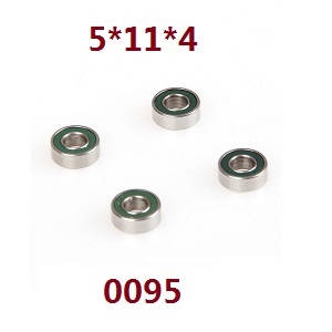 Wltoys 12628 RC Car spare parts bearing 5*11*4 (0095)