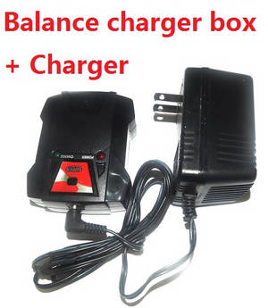 Wltoys 12628 RC Car spare parts charger and balance charger box