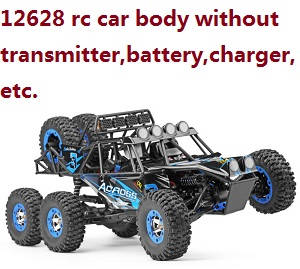 Wltoys 12628 RC Car body without transmitter,battery,charger,etc.