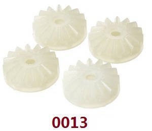 Wltoys 12628 RC Car spare parts small differential planet gear (0013)