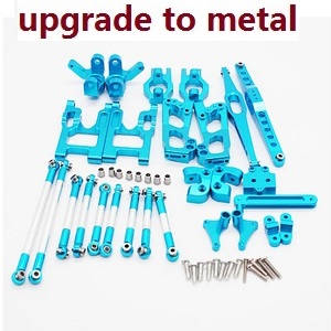 Wltoys 12628 RC Car spare parts metal Upgrade Kit A