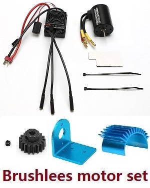 Wltoys 12628 RC Car spare parts brushless and ESC board set