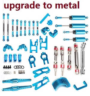 Wltoys 12628 RC Car spare parts metal Upgrade Kit B