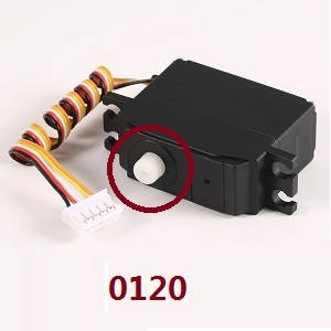 Wltoys 12628 RC Car spare parts SERVO (0120)