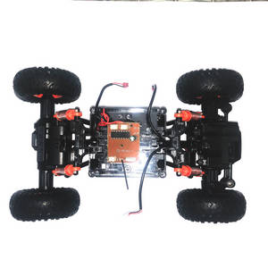 Wltoys 18428-B RC Car spare parts all driven and steering module with 4 tires + PCB board set