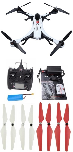 Hot Deal XK Stunt X350 Air Dancer RC Drone with 1 battery and 2sets upgrade blades RTF