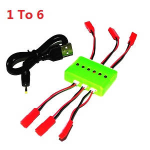 Huanqi 898B HQ 898B RC quadcopter drone spare parts 1 to 6 charger box set