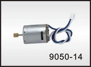 Double Horse 9050 DH 9050 RC helicopter spare parts main motor (Blue-White wire)
