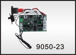 Double Horse 9050 DH 9050 RC helicopter spare parts PCB BOARD (Frequency: 40Mhz)